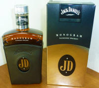 Jack Daniel's Monogram Tennessee Whiskey Limited Edition Smooth Cap