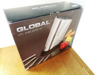 Genuine Global G-5311/ST Knife Block 6 Piece Set